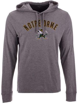 '47 Men's Notre Dame Fighting Irish Long Sleeve Focus Hooded T-Shirt