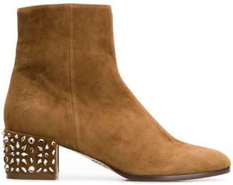 Rodo embellished heel boots
