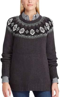 Chaps Women's Fairisle Sweater