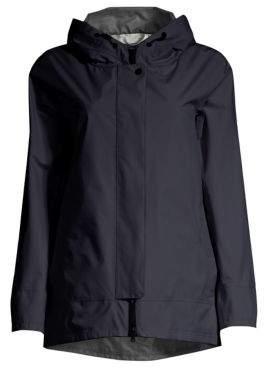 Herno (ヘルノ) - Herno Herno Women's Two-Ply Goretex Short Jacket - Midnight - Size 38 (2)