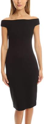 L'Agence Anna Off Shoulder Dress