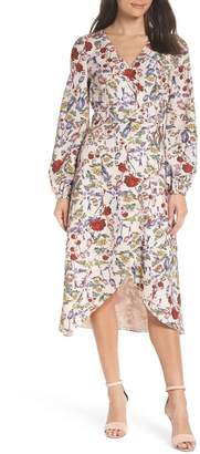Chelsea28 Floral Wrap Dress (Regular & Plus Size)