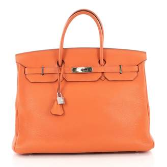 Hermes Birkin 40 leather handbag