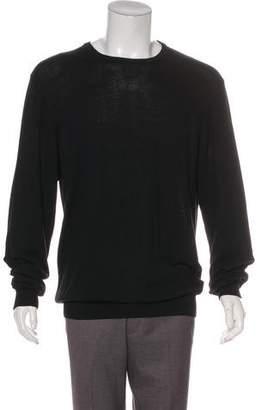 Valentino Long Sleeve Scoop Neck Sweater