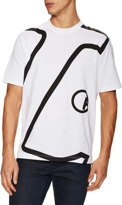 Lanvin Graphic Crewneck T-Shirt
