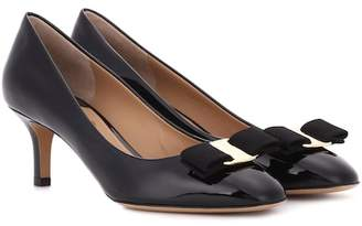 Salvatore Ferragamo Erice 55 patent leather pumps