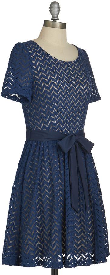 Casually Chevron Dress
