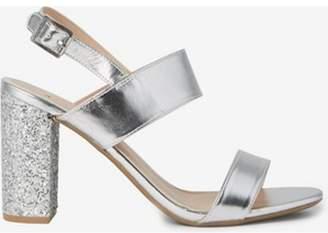 Dorothy Perkins Womens Silver 'Strike' Heeled Sandal