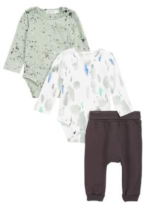 miles baby 3-Piece Bodysuit & Pants Set