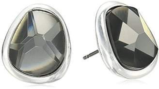 Robert Lee Morris Faceted Stud Earrings