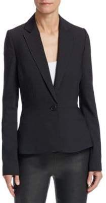 Saks Fifth Avenue COLLECTION Peplum Suit Jacket