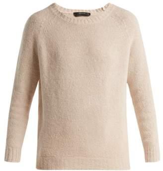 Max Mara Slouchy Alpaca Blend Sweater - Womens - Beige