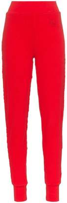 Telfar High-waist stretch cotton trousers