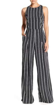 Willow & Clay Striped Strappy Back Jumpsuit