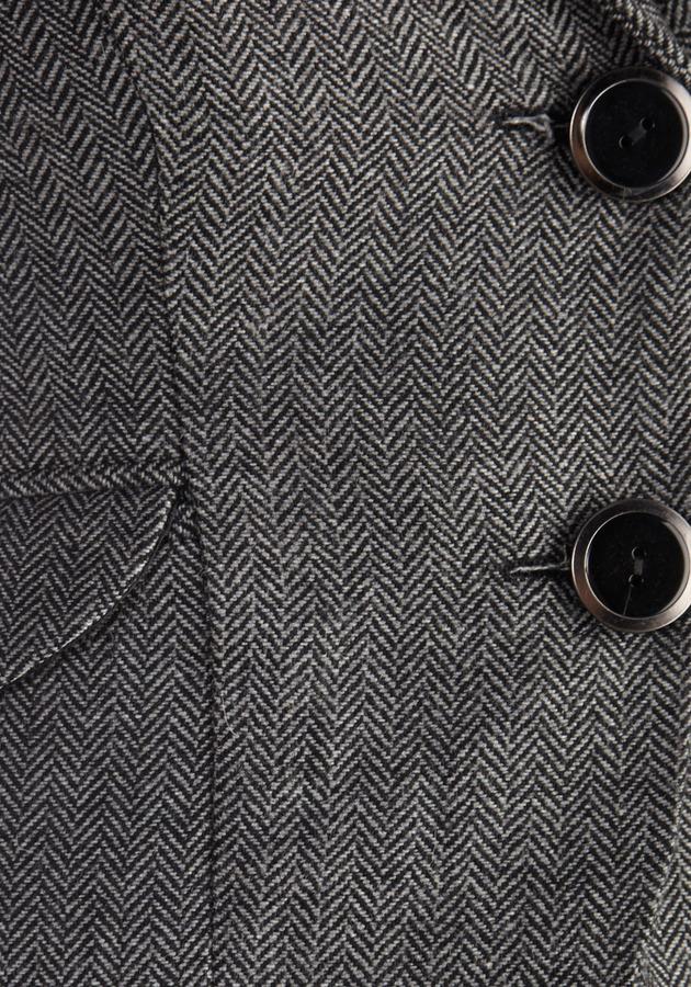 Modern Lit Lecturer Blazer in Grey