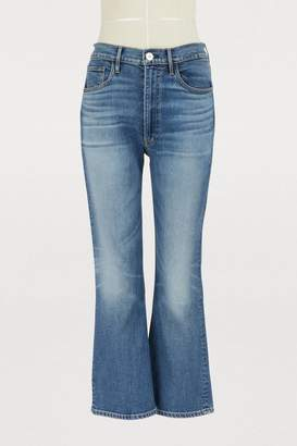 3x1 3 X 1 W5 empire crop bell jeans