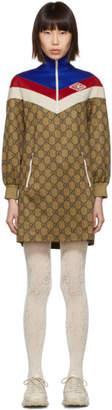 Gucci Beige GG Logo Dress