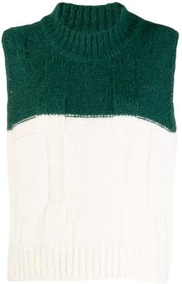 Plan C knitted wool gilet