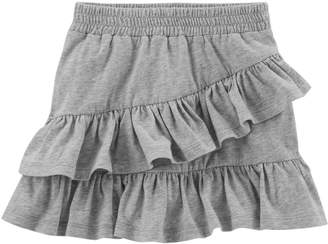 Carter's Girls 4-8 Asymmetrical Tiered Ruffle Skort