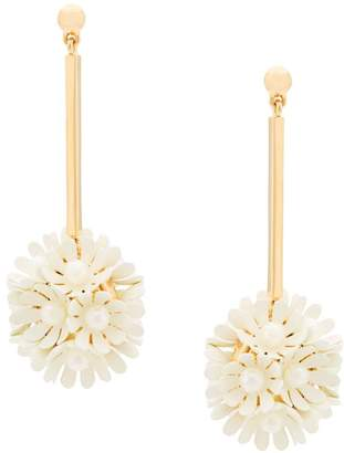 Lele Sadoughi floral drop earrings