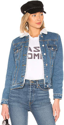 by the way. Selene Sherpa Denim Jacket