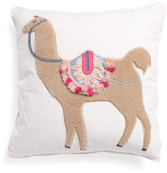 Made In India 26x26 Camel Pillow
