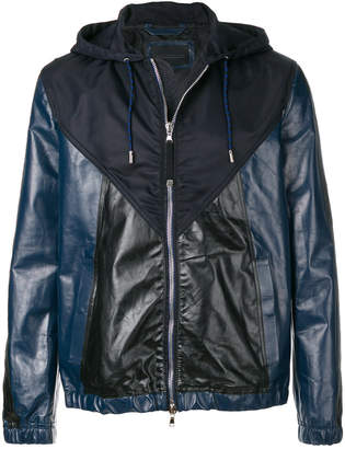 Diesel Black Gold hooded zipped jacket