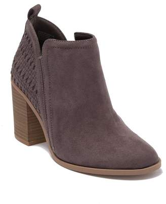 Madden-Girl Eviita Woven Ankle Boot