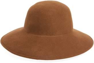 CLYDE Petal Wool Felt Wide Brim Hat