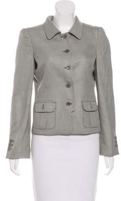 Armani Collezioni Virgin Wool-Blend Blazer