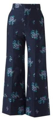 Gucci Floral Fil Coupe Flare Pants