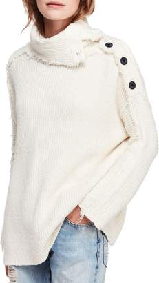 Free People On My Side Turtleneck Sweater