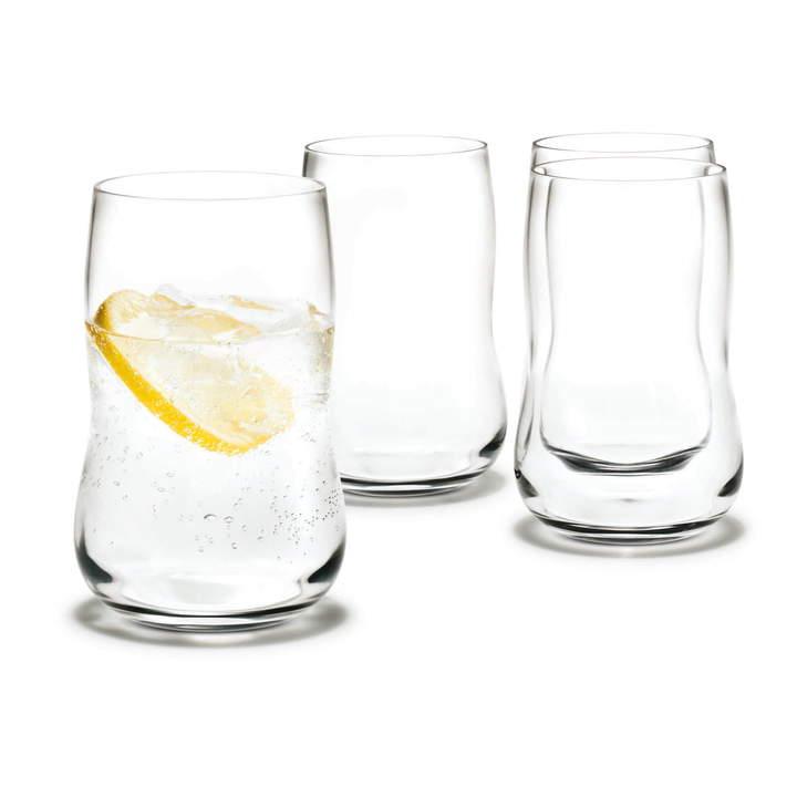 Future Longdrinkglas, 4er Pack, 37 cl, transparent