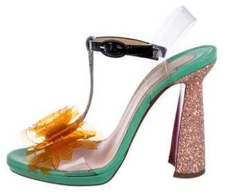 Christian Louboutin La Valois Pompadour Sandals