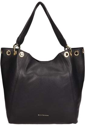 L'Autre Chose Lautre Chose LAutre Chose Black Leather Shopper Bag