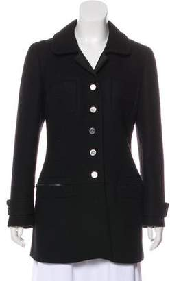 Prada Wool Button-Up Coat