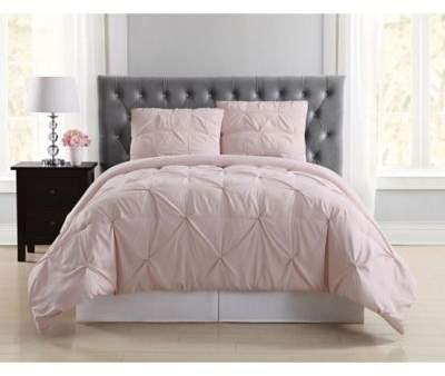 Truly Soft Pleated Full/Queen Duvet Cover Set in Blush