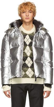Mackage Silver Down Metallic Kent-M Jacket