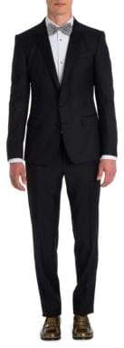 Dolce & Gabbana Virgin Wool-Blend Two-Button Tuxedo