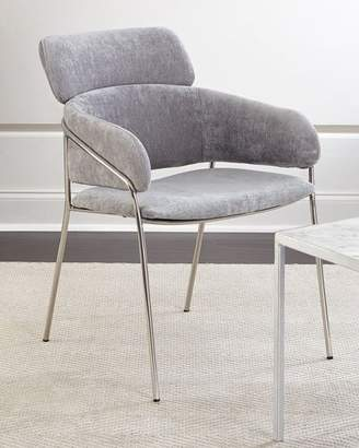 Interlude Home Lexington Chenille Chair