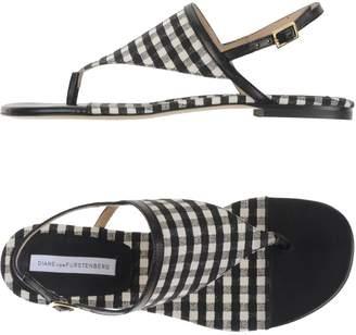 Diane von Furstenberg Toe strap sandals