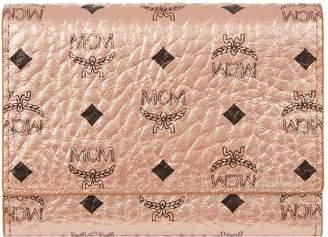 MCM Metallic Visetos Wallet