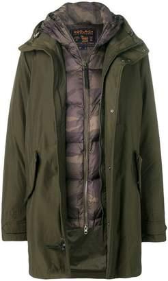Woolrich classic parka coat