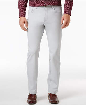 INC International Concepts Men's Stretch Slim-Fit 5 Pocket, Only at Macy's $39.98 thestylecure.com