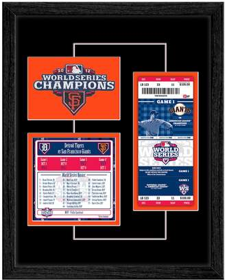 Thats My Ticket San Francisco Giants 2012 World Series Replica Ticket & Patch Frame