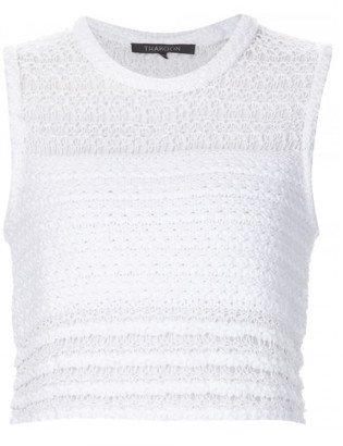 Thakoon knitted cropped tank