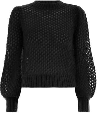 Zimmermann Unbridled Crop Sweater