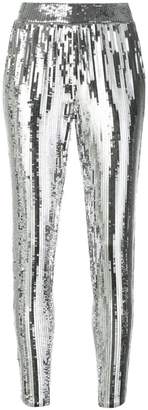 MICHAEL Michael Kors sequined tapered trousers