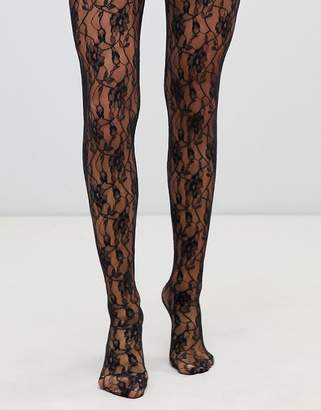 Jonathan Aston vintage sweet roses lace tights