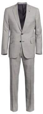 Ralph Lauren Purple Label Two-Buton Notch Glen Plaid Suit